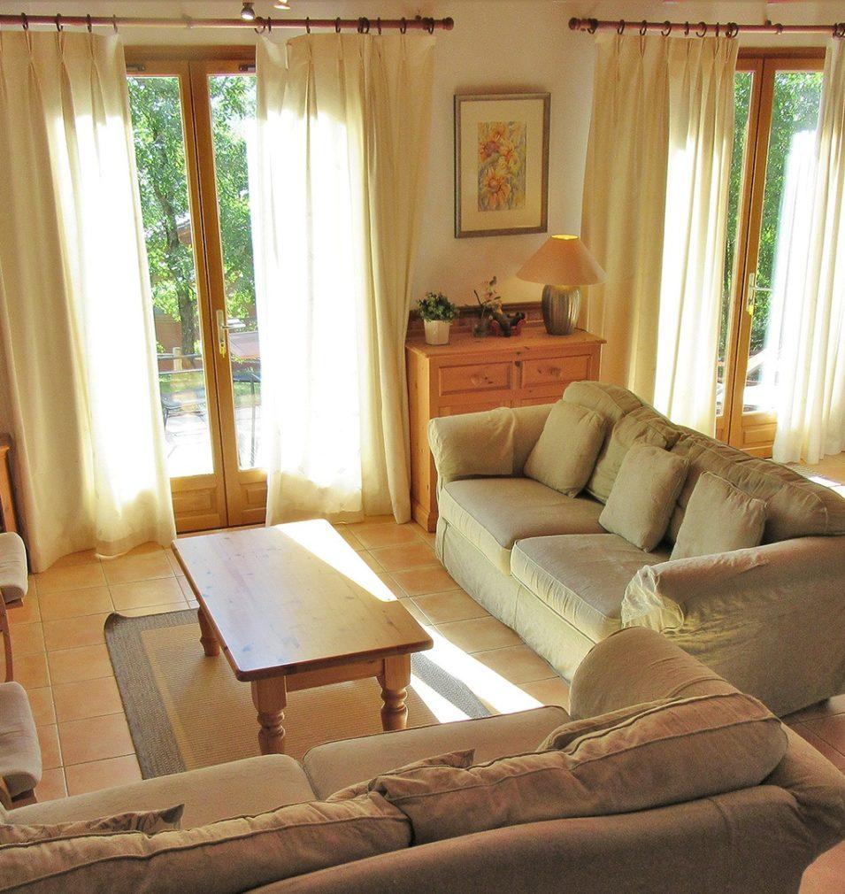 Résidence type Dordogne - salon
