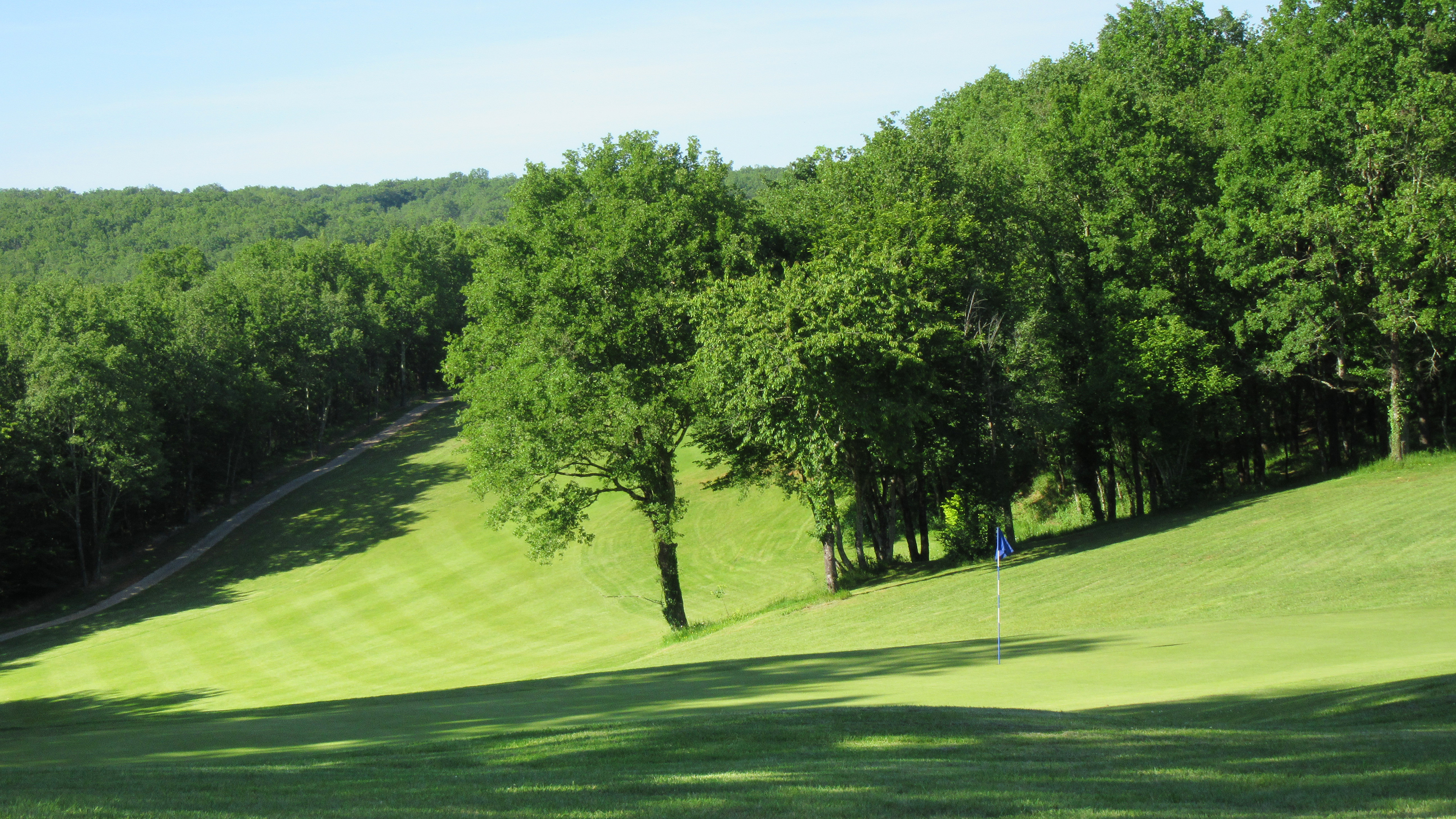 Trou numéro 13 - Golf de Souillac - Vallée de la Dordogne